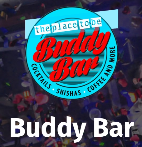 BUDDY BAR in BOCHUM / Germany, COCKTAILS, SHISHA and more