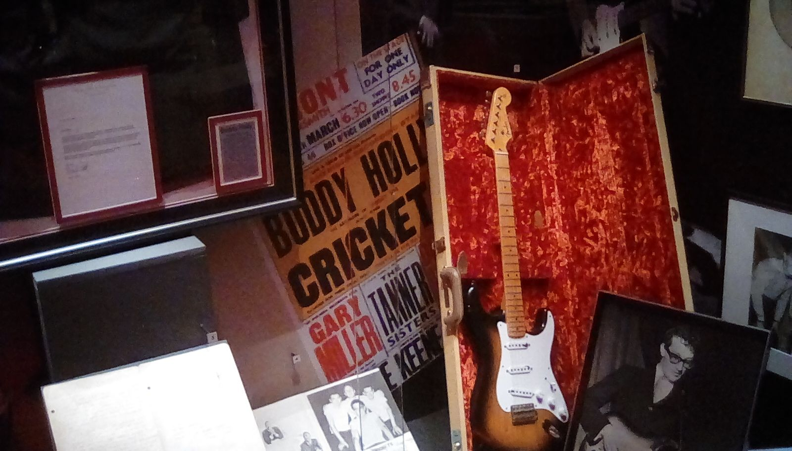 Buddy Holly - British Music Experience Museum, Liverpool