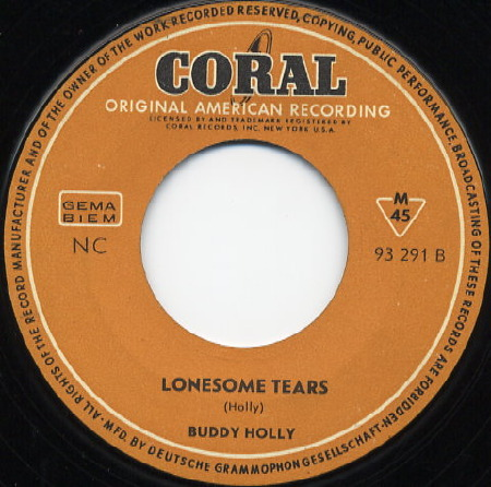 Buddy Holly - Lonesome Tears
