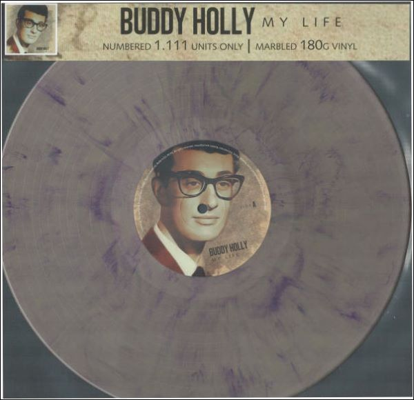 BUDDY HOLLY LP + CD POWER STATION IRELAND LIMITED GOLD VINYL 3576 Made In The EU 2019