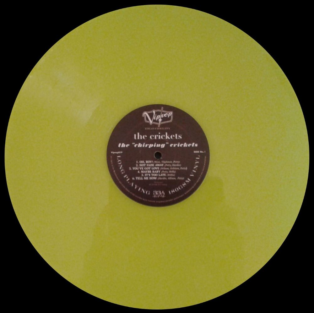 VIPVOP RECORDS, LONDON, ENGLAND. VIP VOP VIPVOP019 2019 Limited Edition translucent 180gsm YELLOW NEON VINYL with FREE CD