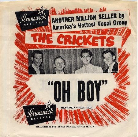OH BOY - Buddy Holly & The Crickets