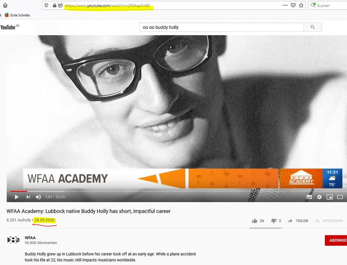 GOOD MORNING TEXAS - WFAA ACADEMY - BUDDY HOLLY FOR KIDS