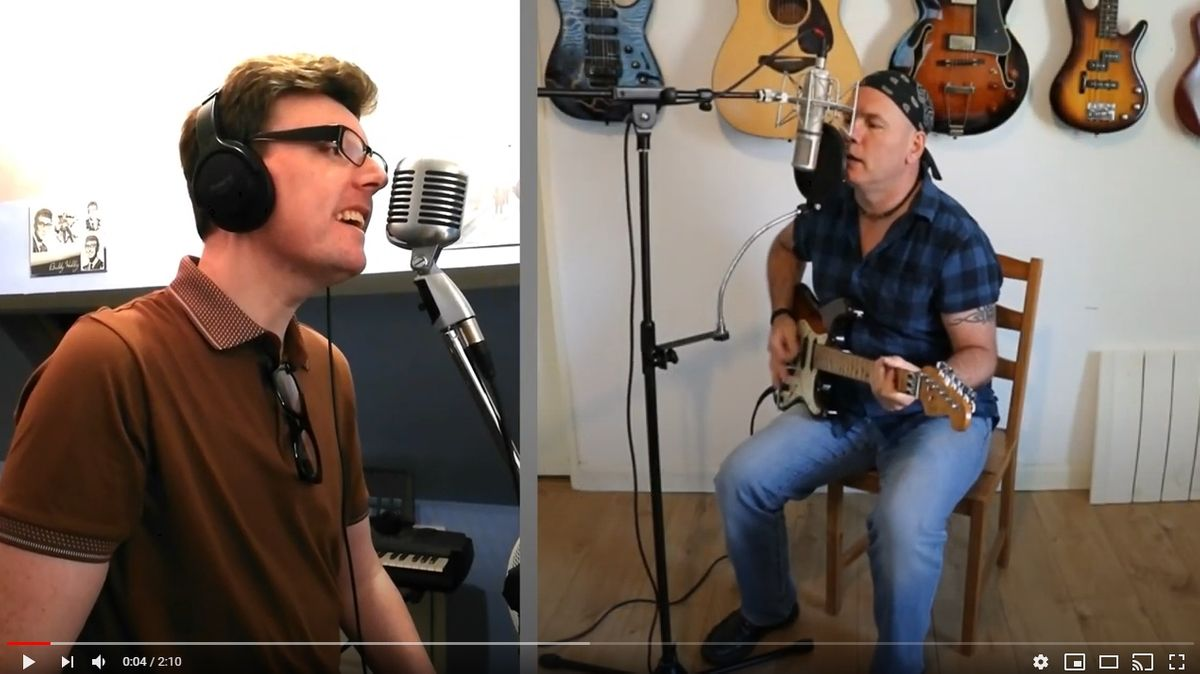 WISHING - Buddy Holly Cover - Andy Morley & Lee Limerick