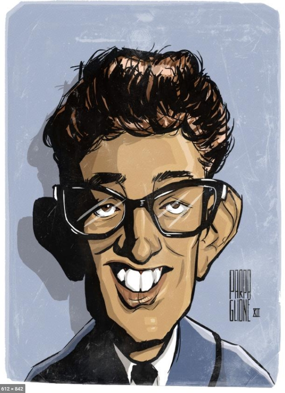 Buddy Holly by Parpa on DeviantArt