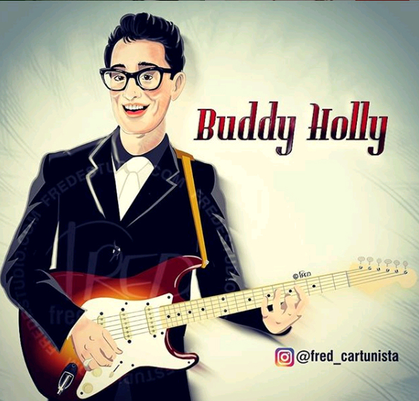 Buddy Holly Painting by Frederico Wladimir