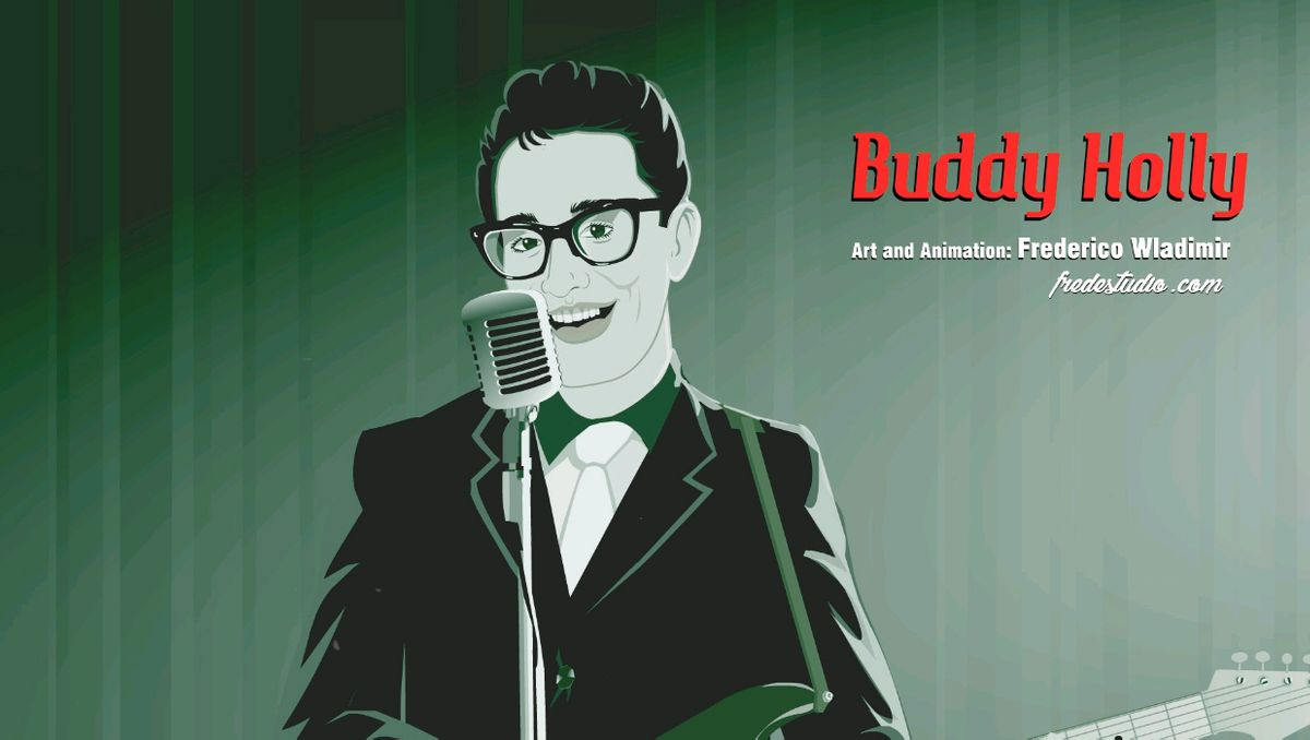 Buddy Holly Animation by Frederico Wladimir