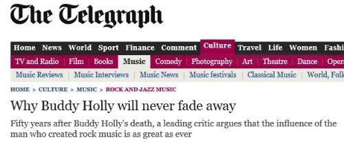 The Telegraph 30 January 2009