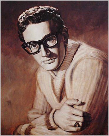 Excellent Buddy Holly Painting