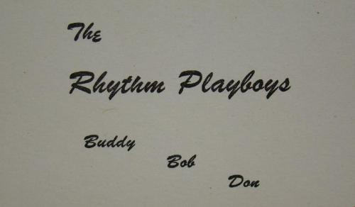 The Rhythm Playboys