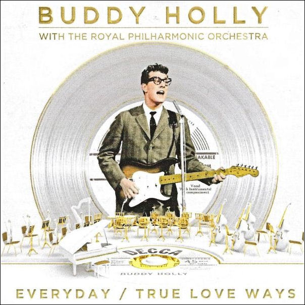 DECCA  'Everyday / True Love Ways'  Promo  CD