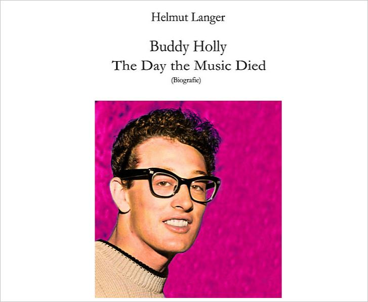 Buddy Holly The Day The Music Died - Helmut Langer