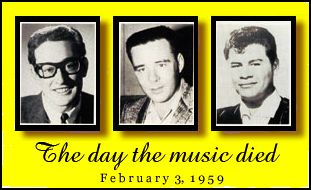 The day the music died February 3, 1959