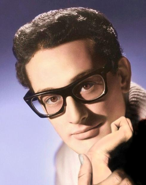 BUDDY HOLLY PHOTO ART BY PETER F. DUNNET
