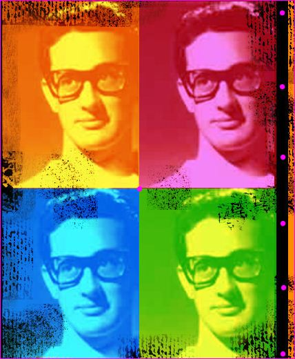 BUDDY HOLLY COLLAGE