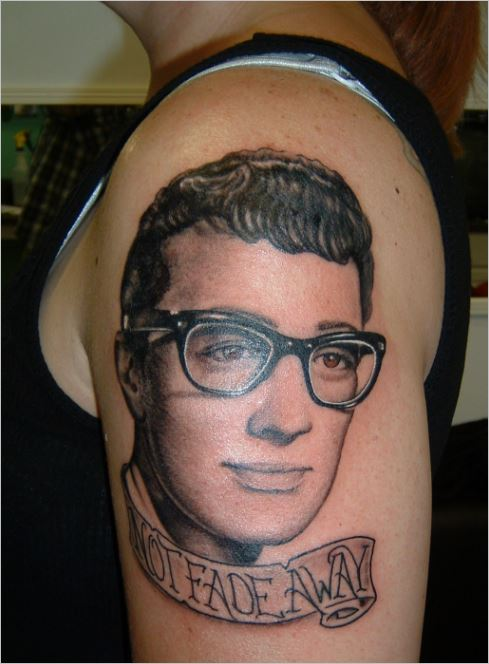 BUDDY HOLLY TATTOO