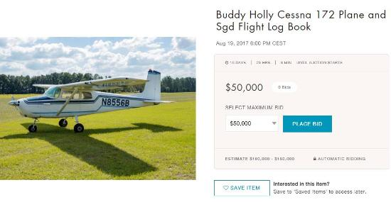 For_Sale_,_Buddy_Holly_Related_Items