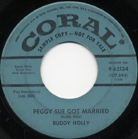 Peggy Sue Got Married - BUDDY HOLLY