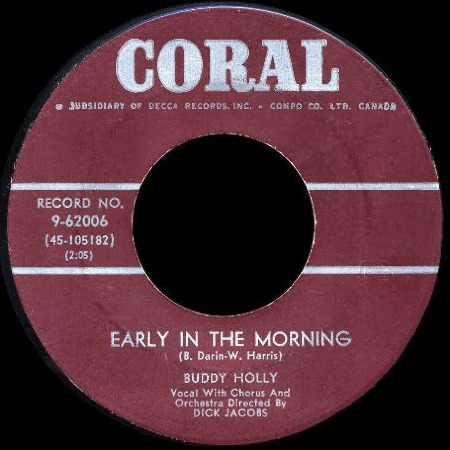 Early in the morning BUDDY HOLLY