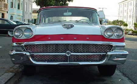 Ford car from 1958