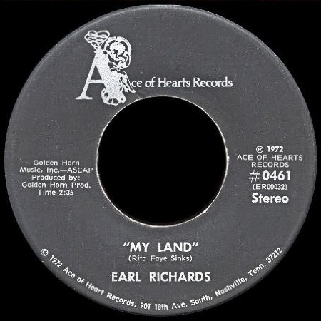 My Land - EARL SINKS