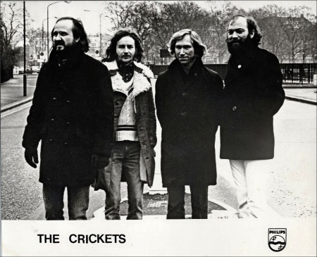 THE CRICKETS Philips Promo Photograph