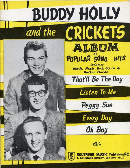 BUDDY HOLLY & THE CRICKETS ALBUM
