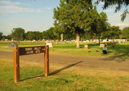 Buddy Holly Grave Site 9-7-2009