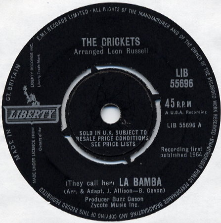 CRICKETS La Bamba