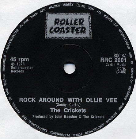 CRICKETS Rock around with Ollie Vee
