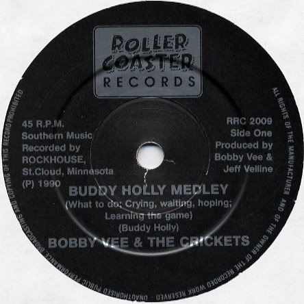 BOBBY VEE & THE CRICKETS Buddy Holly Medley