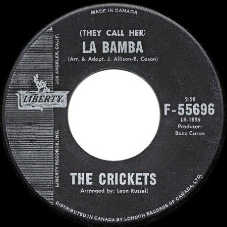 (They call her) La Bamba - The Crickets