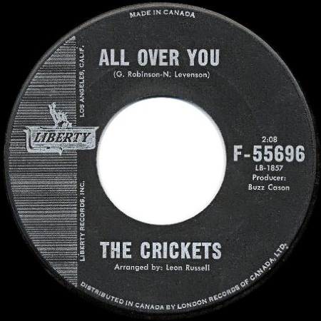 All Over You - The Crickets