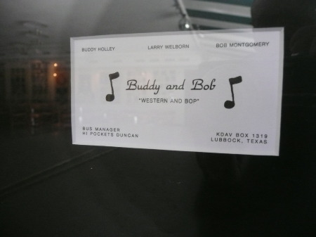 Buddy and Bob Business Card