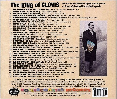 The KING of CLOVIS - The Legacy of Norman Petty
