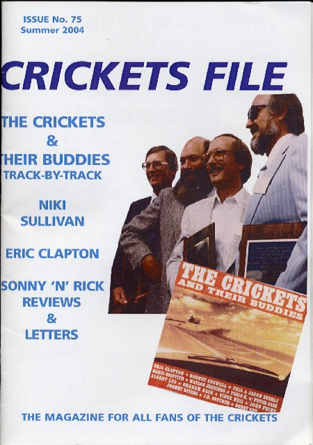 CRICKETS FILE