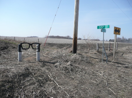 Way to Buddy Holly Crash Site 1