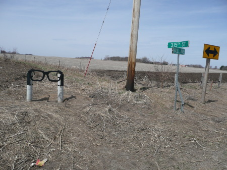 Way to Buddy Holly Crash Site 4