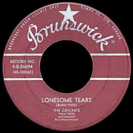 LONESOME TEARS - The Crickets