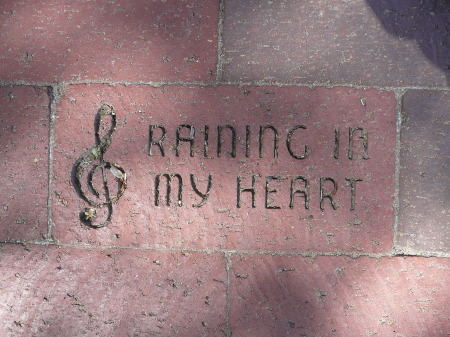 RAINING IN MY HEART