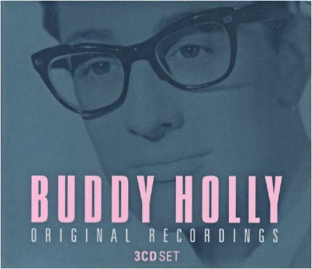 BUDDY HOLLY 3 CD SET ORIGINAL RECORDINGS
