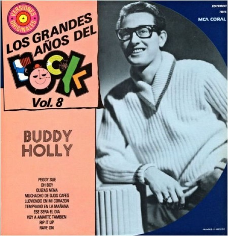 BUDDY HOLLY - LOS GRANDES ANOS DEL ROCK - MEXICO