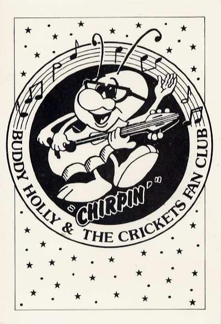 "BUDDY HOLLY & THE CRICKETS FAN CLUB ""CHIRPIN'"""