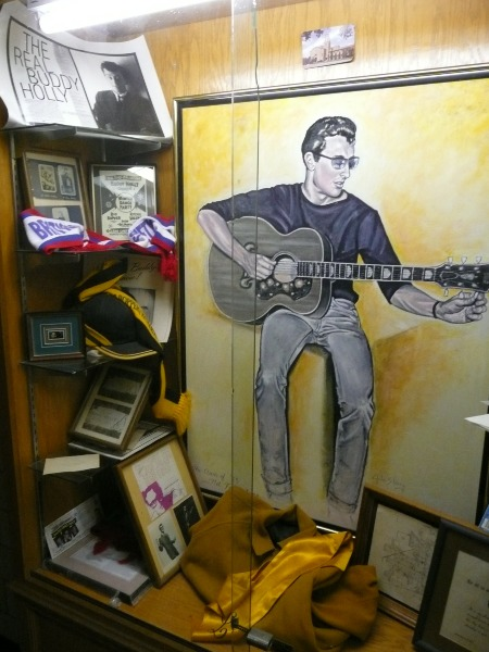 Lubbock High School 2009 - BUDDY HOLLY Cupboard