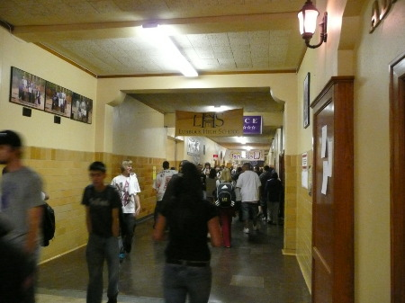 Lubbock High School 2009 - Hallway