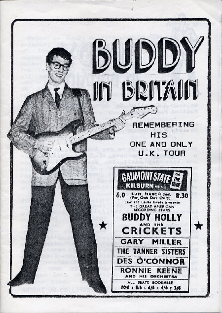 Buddy in Britain