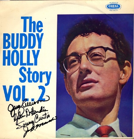 THE BUDDY HOLLY VOL. 2 WITH ORIGINAL AUTOGRAPHS