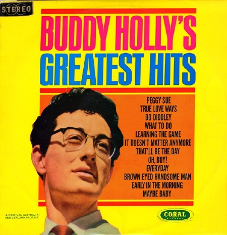 BUDDY HOLLY'S GREATEST HITS - STEREO