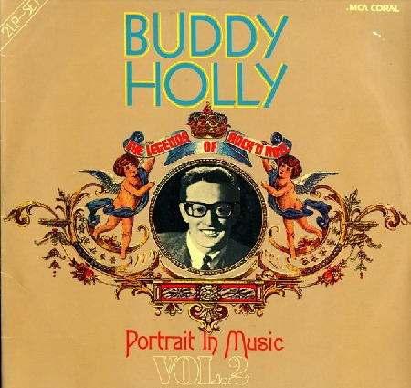 BUDDY HOLLY - Portrait in Music - Vol.2