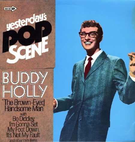BUDDY HOLLY Yesterday's Pop Scene